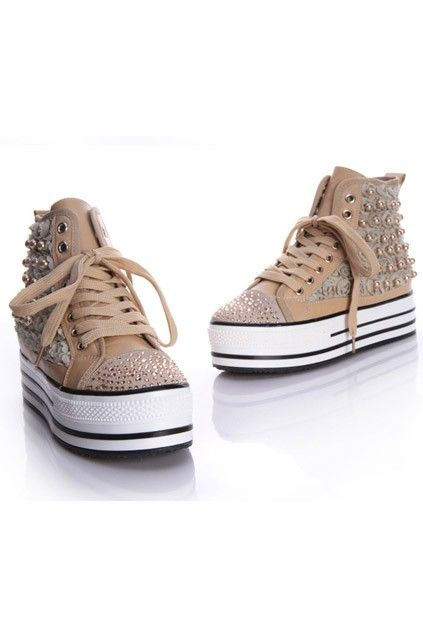 Platform Canvas Shoes