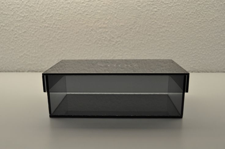 Acrylic treasure box with your name or initials on. Order at www.box2order.gr