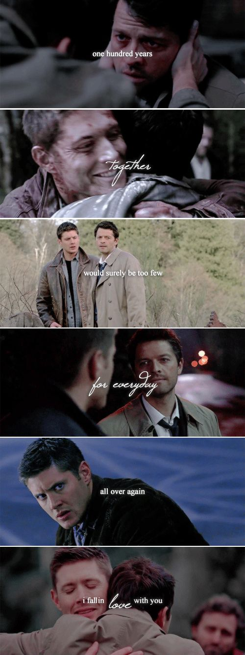 I trade  a eternity for you. Paradise is to be by your side.  September 18th 2008 - September 18th 2016.  #spn #destiel