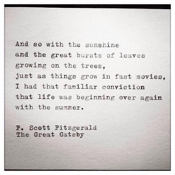 F. Scott Fitzgerald | The Great Gatsby
