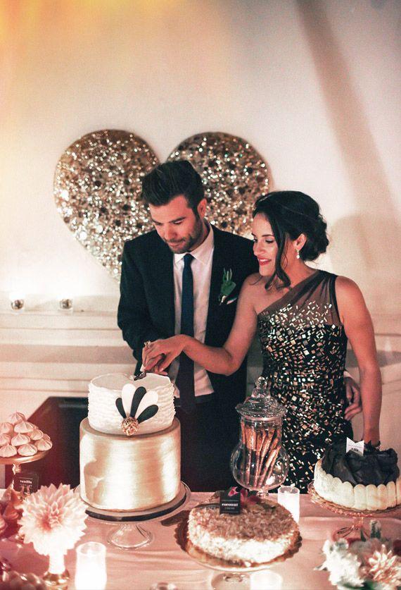 Amanda and Tim's wedding   Photo by Max Wanger   100 Layer Cake