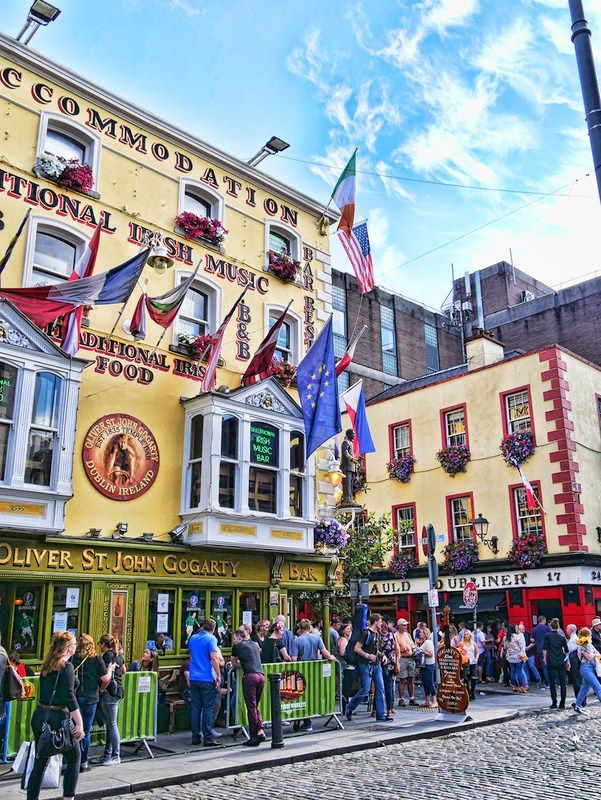 48 Hours in Dublin – How to Make the Most of Your Time in the capital city of Ireland with tips on where to eat and the best tourist attractions