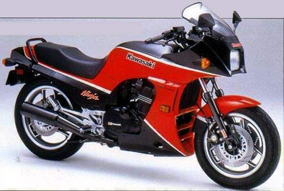 1984 Kawasaki GPZ 900 R. The one I lusted after when I bought the 600R