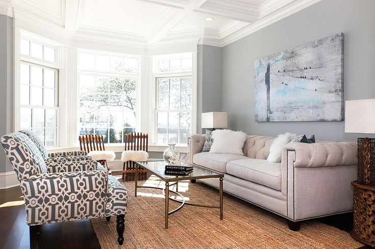 living rooms with bay windows - Google Search