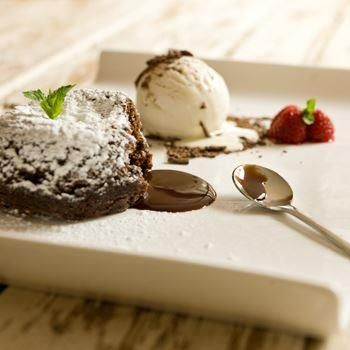Torta Fundida De Chocolate- Oster Chile - Recetas