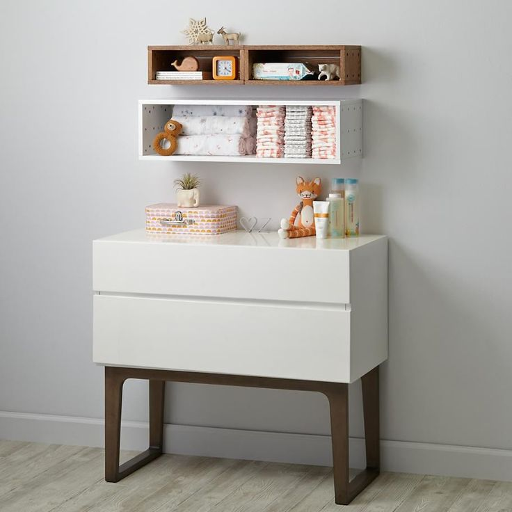 Narrow Wall Shelving From The Land Of Nod Nursery