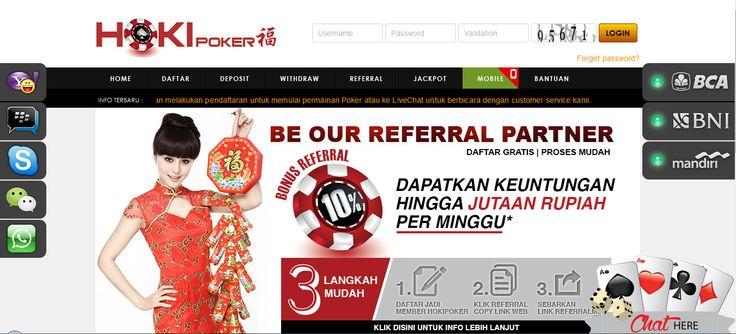 HOKIPOKER – Agen Poker Online, DominoQQ Terpercaya