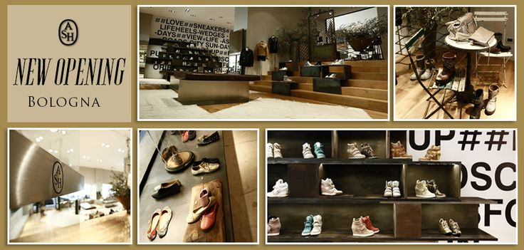 #Ash #inaugura una #nuova #boutique a #Bologna! In pieno #centro, all'interno della #celebre #Galleria #Cavour! Un #spazio #moderno ed #elegante per un' #esperienza di #shopping #esclusiva!