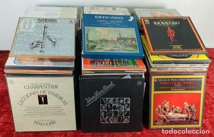 Interesante Coleccion De 408 Discos De Vinilo De Musica Clasica