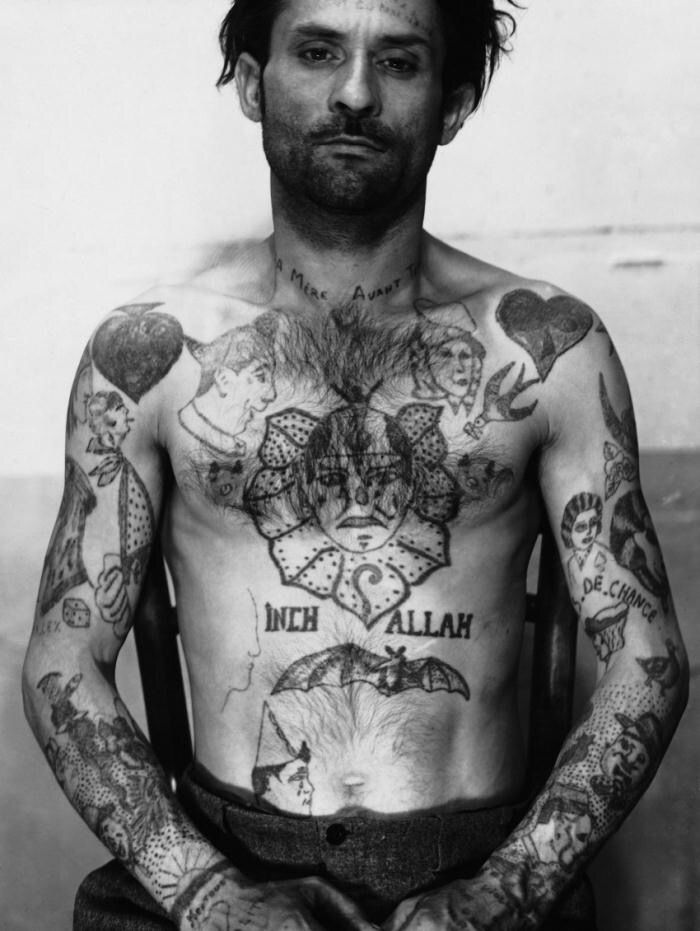 фото уголовных татуировок этой проблемы