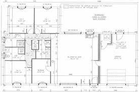 plan de maison plain pied 3 chambre sans garage avec cotation - Recherche Google in 2020 | Floor ...