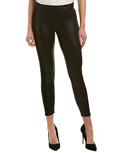 27536fb3d33 Black Rib Snakeskin Leggings