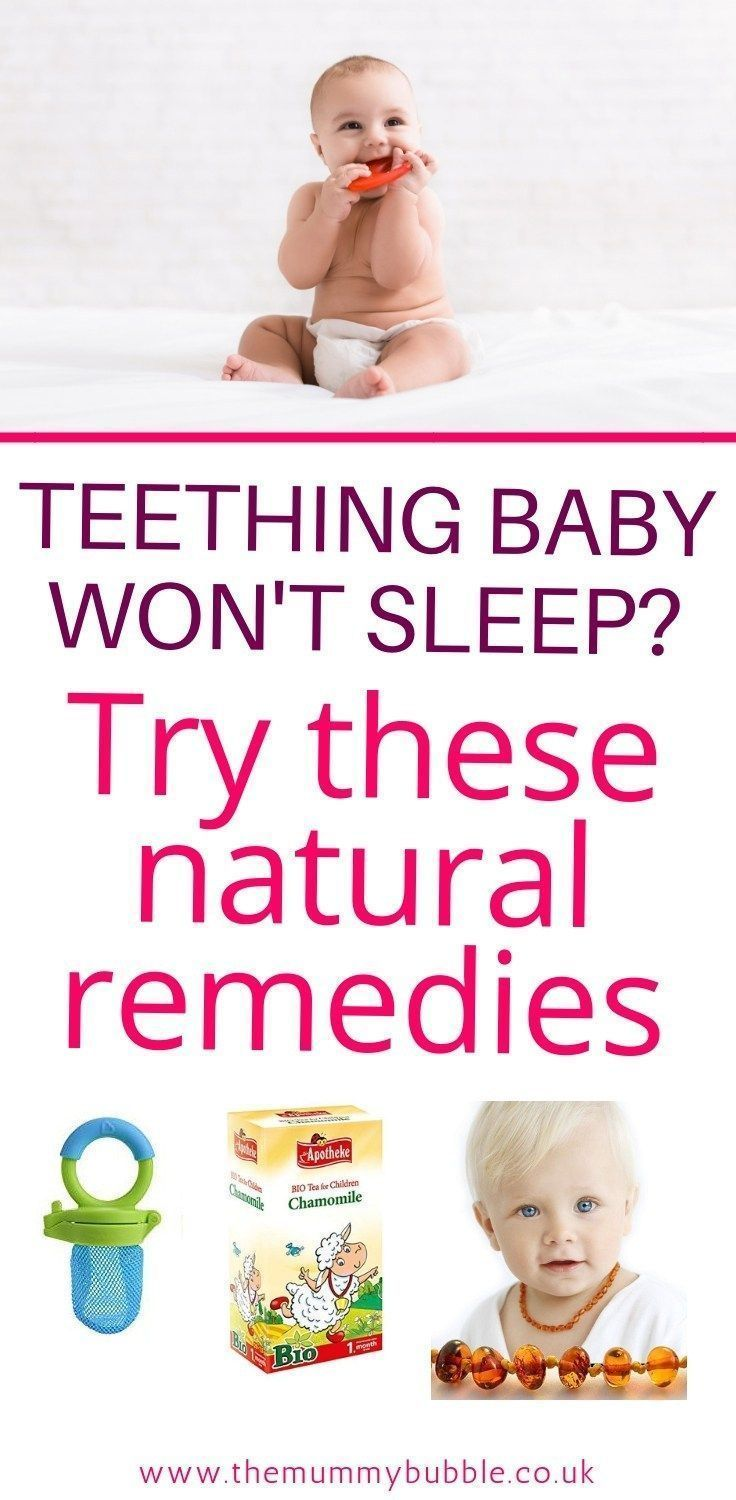 The Best Natural Remedies For A Teething Baby The Mummy Bubble Baby Teeth Baby Teething Remedies Baby Remedies
