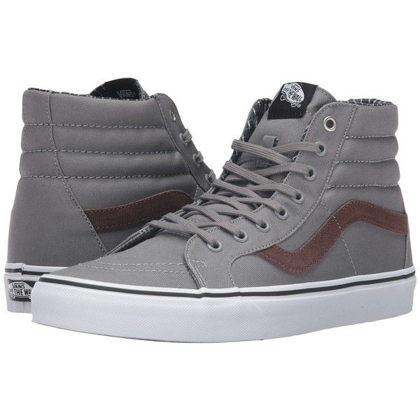 Vans SK8Hi Reissue Cord  Plaid Frost Gray True White