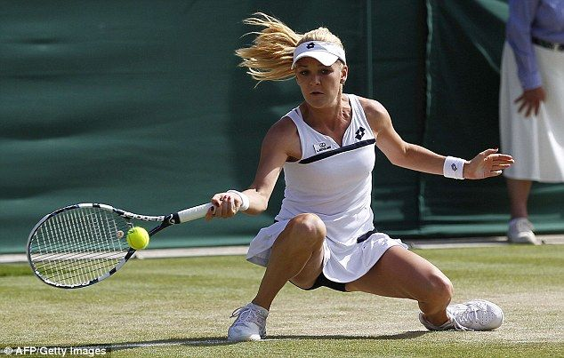 Agnieszka Radwanska had to focus real hard to defend her place in the competition against Madison Keys #tennis #wimbledon #day6