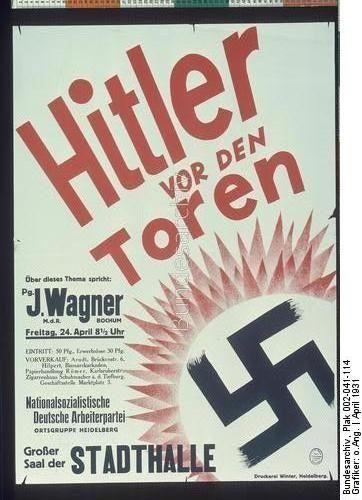 Hitler vor den Toren Dating:April 1931