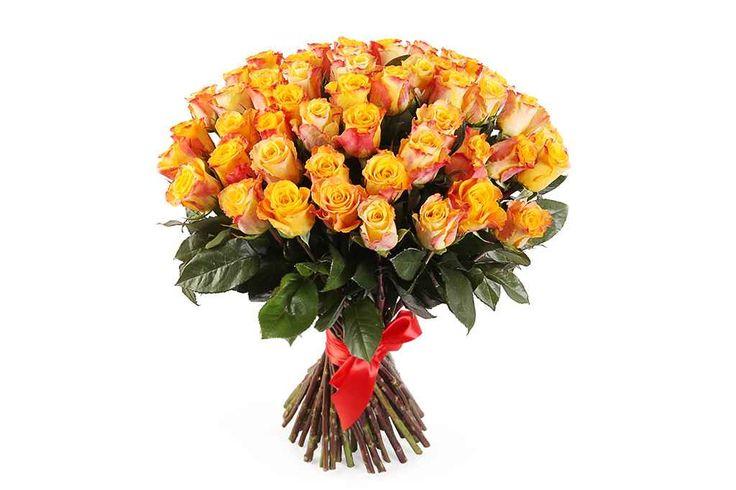 крутой Букет 51 роза Мари Клер  #Букеты #Оригинальныебукеты,Букет51розаМариКлер