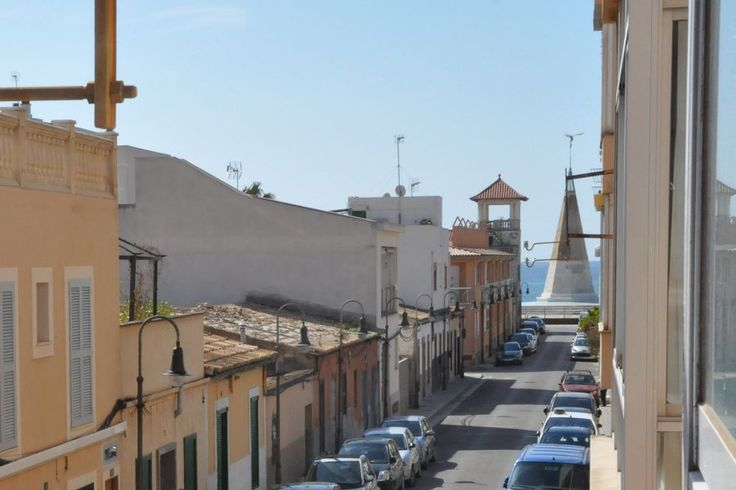 Portixol/ Es Molinar, Palma de Mallorca: Nyrenoverad ljus lägenhet i centrala Molinar