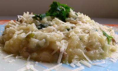 Come to cook: Ριζοτο με μανιταρια