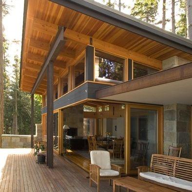 Slider doors open to patio.