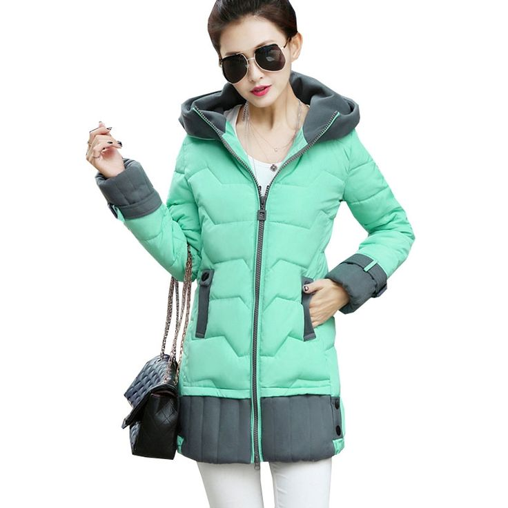 44.79$  Watch more here - http://aigft.worlditems.win/all/product.php?id=32759137073 - Cheap Winter Coats Womens Quilted Coat Winter Jacket Women 2016 Korean Ukraine Parka Manteau Femme Jaqueta Feminina Parkas Tunic