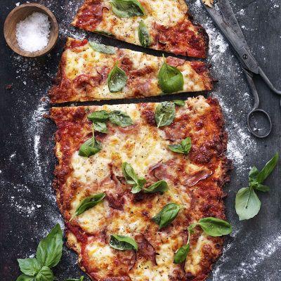 Glutenfri Vesuvio-pizza