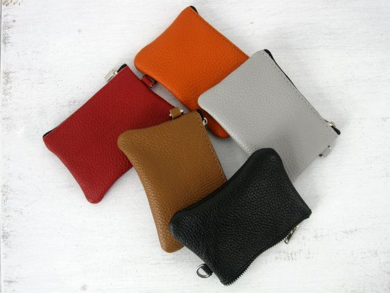 WOMAN LEATHER WALLET in the color of your bag woman travel