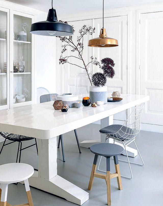 Chic dining area! #interior