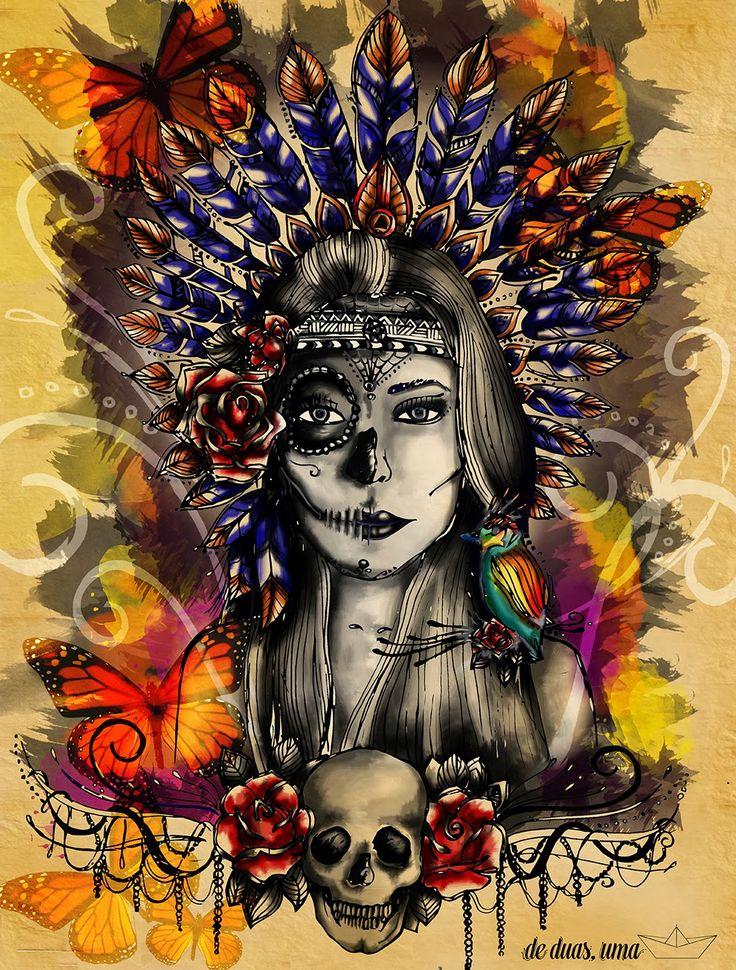 ilustração de duas uma aruenã