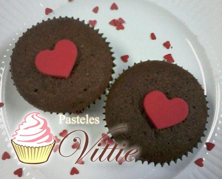 Chocolate love cupcakes!