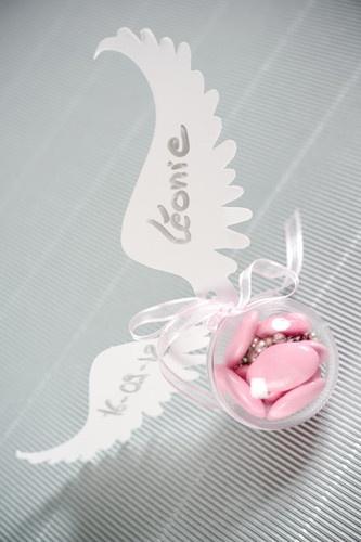 Boules plexi de 5cm x100, contenants à dragées, mariage, baptême.
