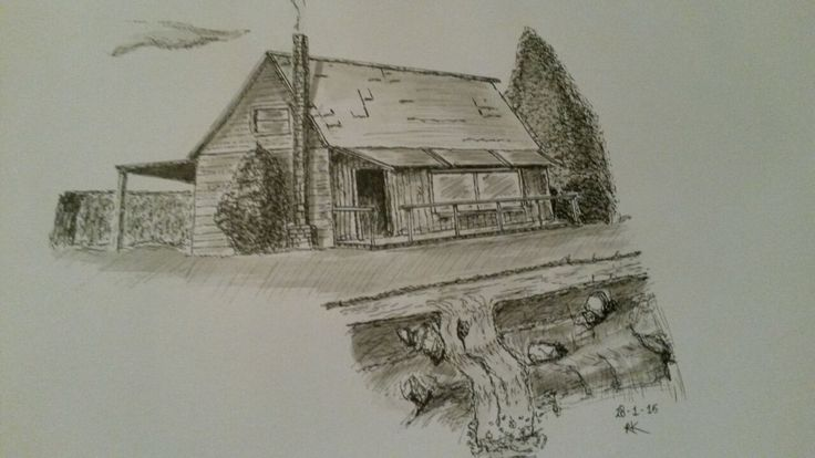 Trying ink-wash, first time... Love it!  RK