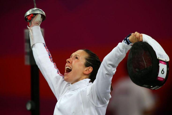 Samantha Murray Modern Pentathlon SILVER MEDAL
