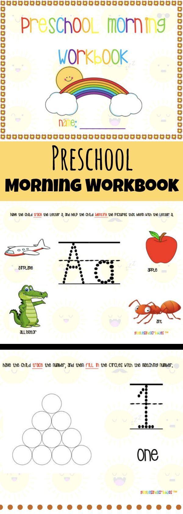 Workbooks prek workbooks : 9065 best Learning images on Pinterest | Preschool activities ...
