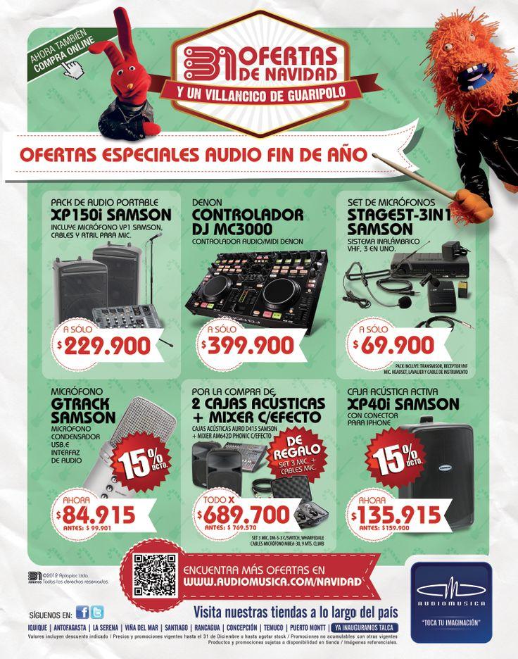 Gráfica Audio Música Diarios
