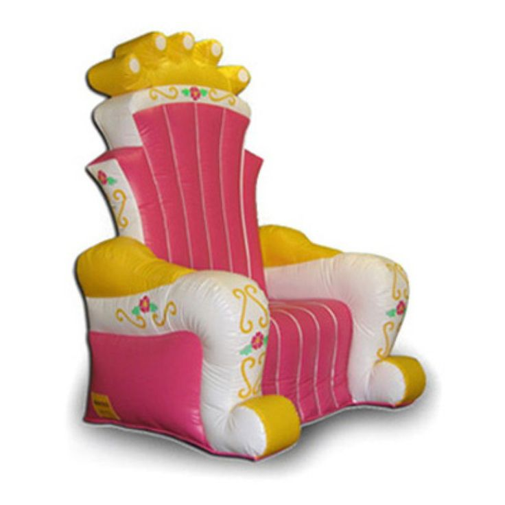 EZ Inflatables Inflatable King Chair Bounce House - I132