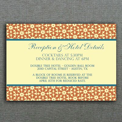 wedding reply card templates