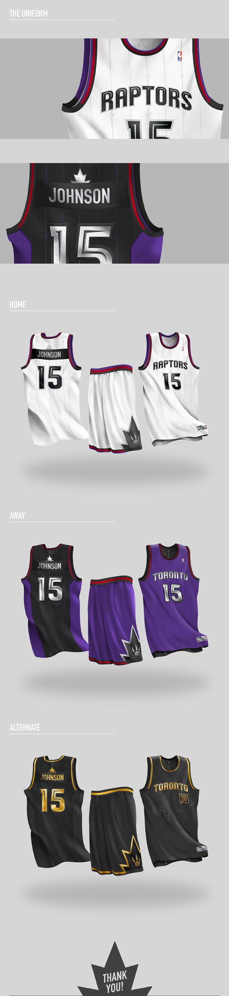 Toronto Raptors Uniform Concept on Behance