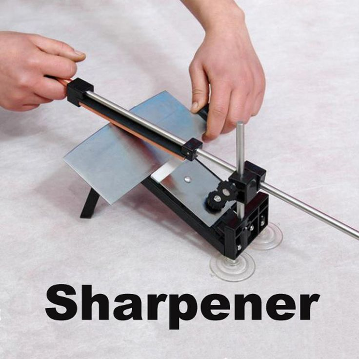 New Kitchen Professional Fix angle Sharpening Cutlery Knife Sharpener System Kitchen Accessories NVIE