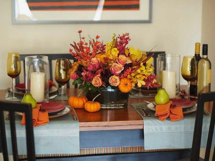 90 best Decoration de table images on Pinterest | Decoration, Fall ...