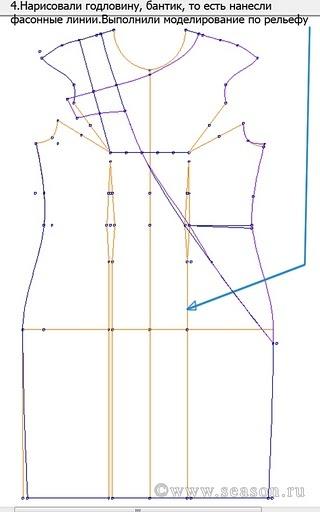 costruzione cartamodello tubino