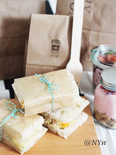 ラッピングに凝って楽しいランチタイム☆ -ピクニック おしゃれなお弁当