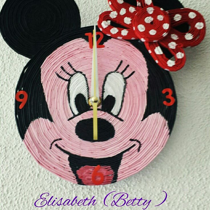 Orologio da parete per bambina