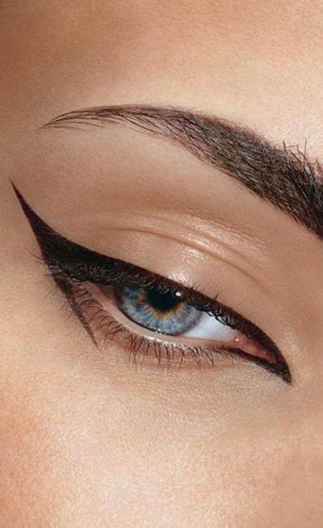 Winged Eyeliner Tutorial Step By Step: Best 25+ Eyeliner Application Ideas On Pinterest