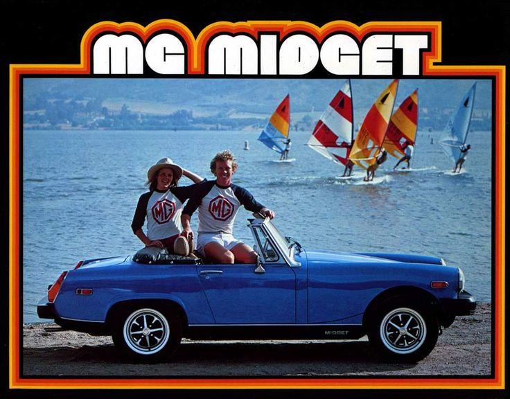MG Midget ad
