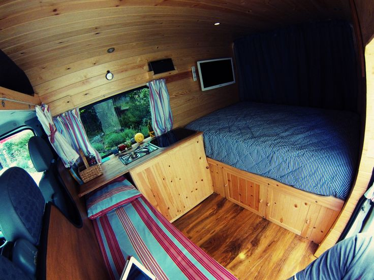 My Camper Van Conversion In Actual Wood