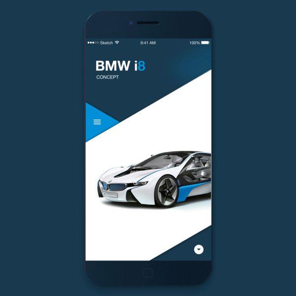 BMW i8 on Behance