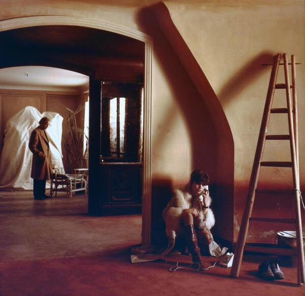 Maria Schneider and Marlon Brando, Ultimo tango a Parigi, 1972, Bernardo Bertolucci.