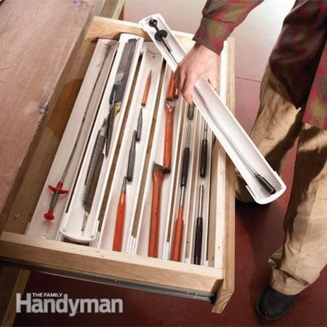 Lifehacker: garage organization tips from Family Handyman magazine