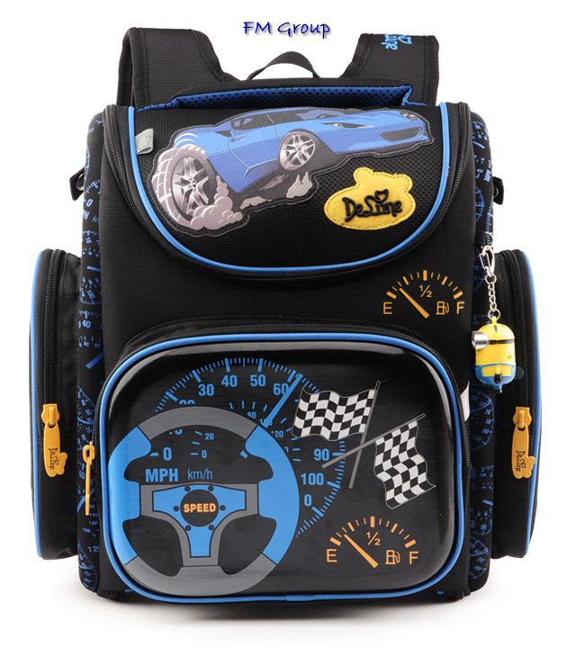 Школьный рюкзак, прочный и практичный, стильный рюкзак для школьника.